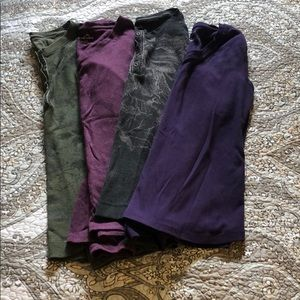 4 pack long sleeve thermals